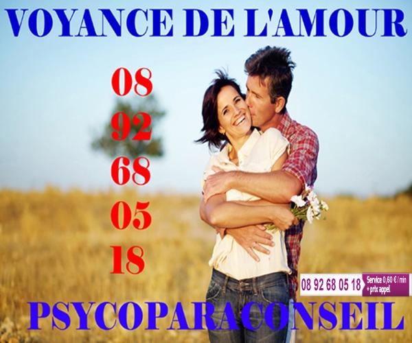PSYCOPARACONSEIL VOYANCE DU COEUR
